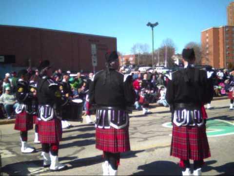 St Patrick's Day Parade Pawtucket RI 2010 # 1 vide...
