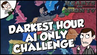 Hearts of Iron 4 hoi4 Darkest Hour AI Only Challenge