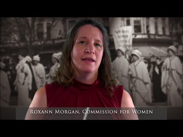 Women's Suffrage: What It Means to Me (Roxann Morgan)