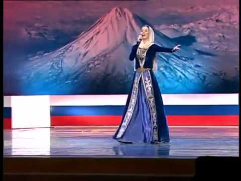 Chechen Girl Sings Armenian Patriotic Song Hay Qajer Heda Hamzatova Russian:Armenian Festival
