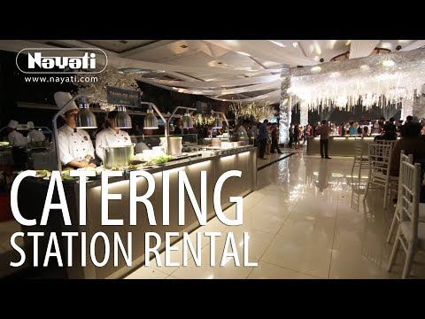 Catering Equipment Rental : Luxury Wedding Reception