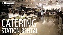 Catering Equipment Rental : Luxury Wedding Reception