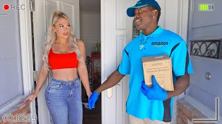 HIDDEN CAMERA CAUGHT Wife CHEATING With AMAZON DRIVER..