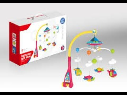 Unboxing And Set-up Dreamful Crib Mobile