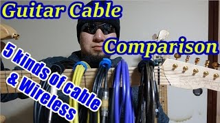 5 Guitar Cables & Relay G10 Comparison with Helix thumbnail