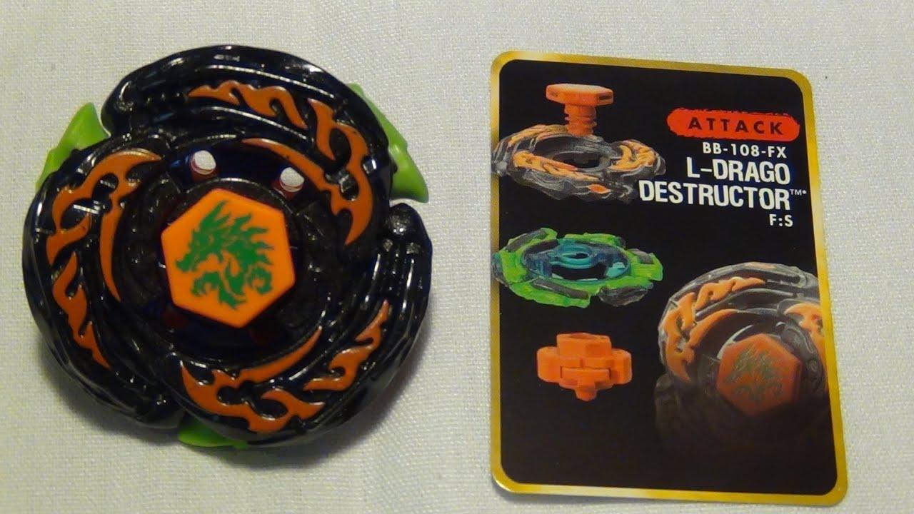 Beyblade Hyperb... L Drago Destructor