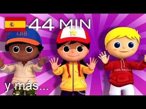 Abre y cierra | Y muchas más canciones infantiles | ¡LittleBabyBum!