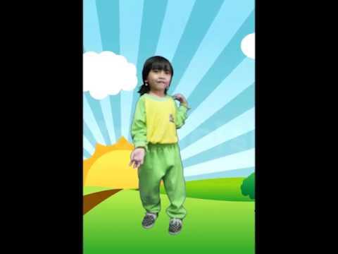 Senam Sehat Paud / Playgroub - anak sehat Indonesia