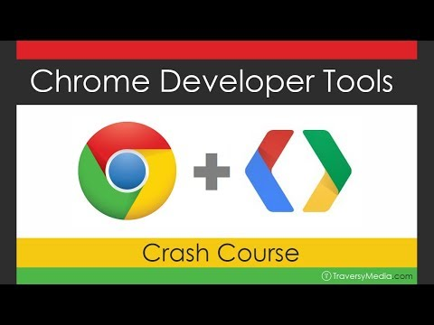 Google Chrome Developer Tools Crash Course