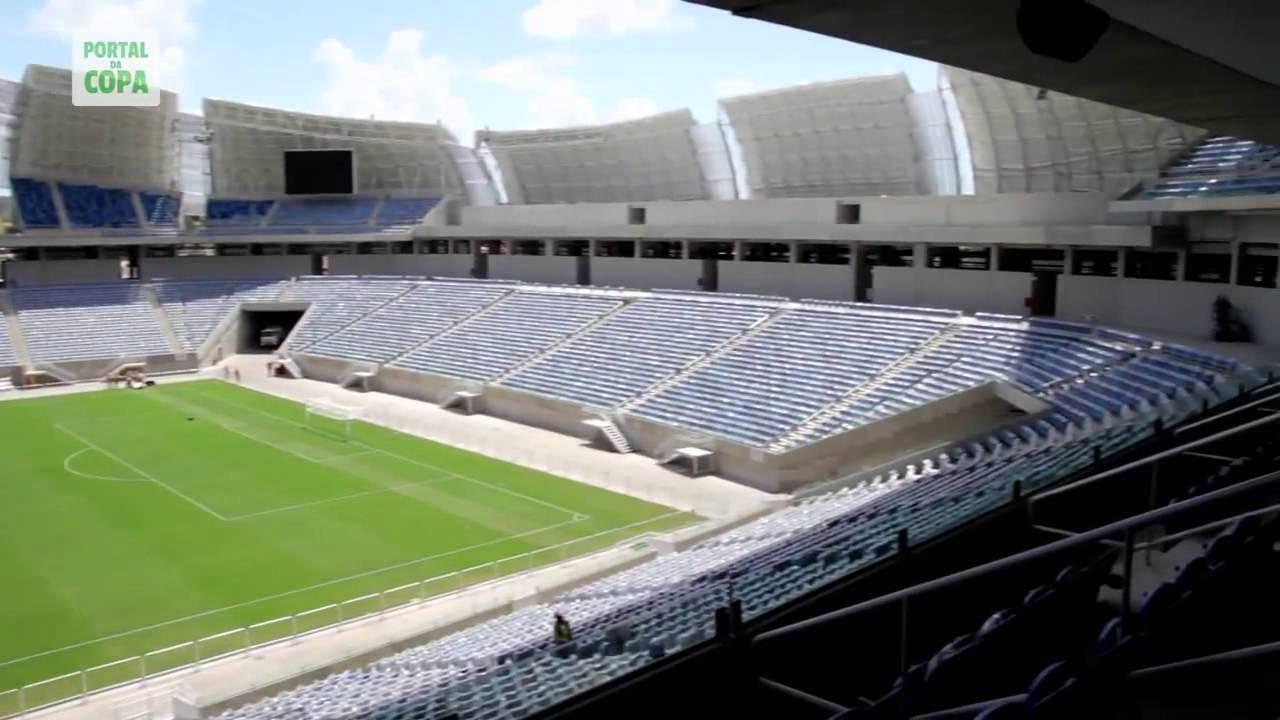 Brasil 2014 se inaugur el arena das dunas de natal for Estadio arena