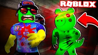 ДИНО ПИГГИ ОХОТИТСЯ ЗА МНОЙ! Как ВЫЖИТЬ и СБЕЖАТЬ ОТСЮДА? Режим Piggy Roblox от Cool GAMES