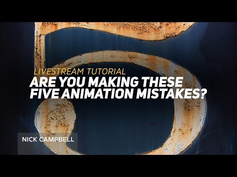 Are you making these 5 Animation Mistakes in Cinema 4D?