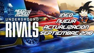 Need For Speed No Limits Android Info Actualizacion Septiembre 2018 Rivales Clandestinos Pronto