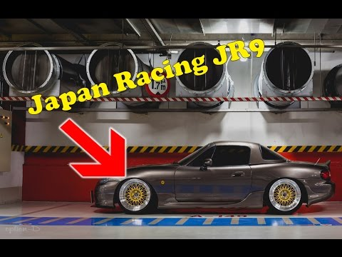 jante japan racing jr9 dca evolution youtube