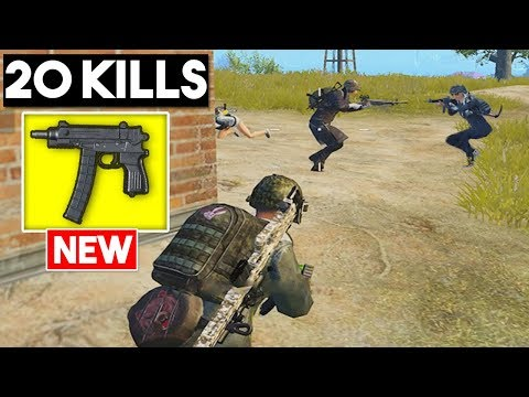 WINNING WITH THE NEW WEAPON   20 KILLS SOLO vs SQUADS   PUBG Mobile 🐼