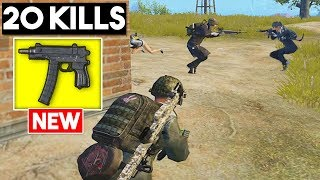 WINNING WITH THE NEW WEAPON | 20 KILLS SOLO vs SQUADS | PUBG Mobile 🐼