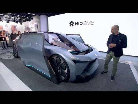 NIO EVE World Premiere at SXSW in Austin, Texas