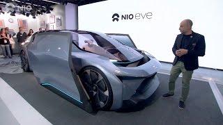 NIO EVE World Premiere at SXSW in Austin, Texas