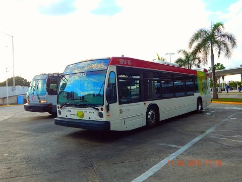 🚍/📹 AMA Urban Transport (San Juan): Bus Observations (November 2015) - Part 4/4