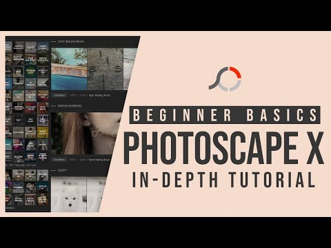 Photoscape X In Depth Tutorial For Beginners