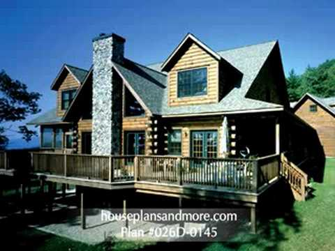 Log Homes Video 1 | House Plans and More
