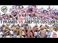 SN Battle Reports.... Goes Video- Tyranids vs Adeptus Custodes