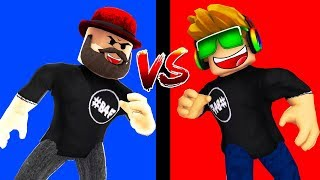 ROBLOX PICK A SIDE DAD OR SIMAS?! WHO WILL WIN MORE?!