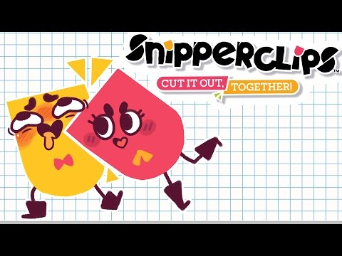 An Oddly Inappropriate Game 😏 / Snipperclips / JaltoidGames