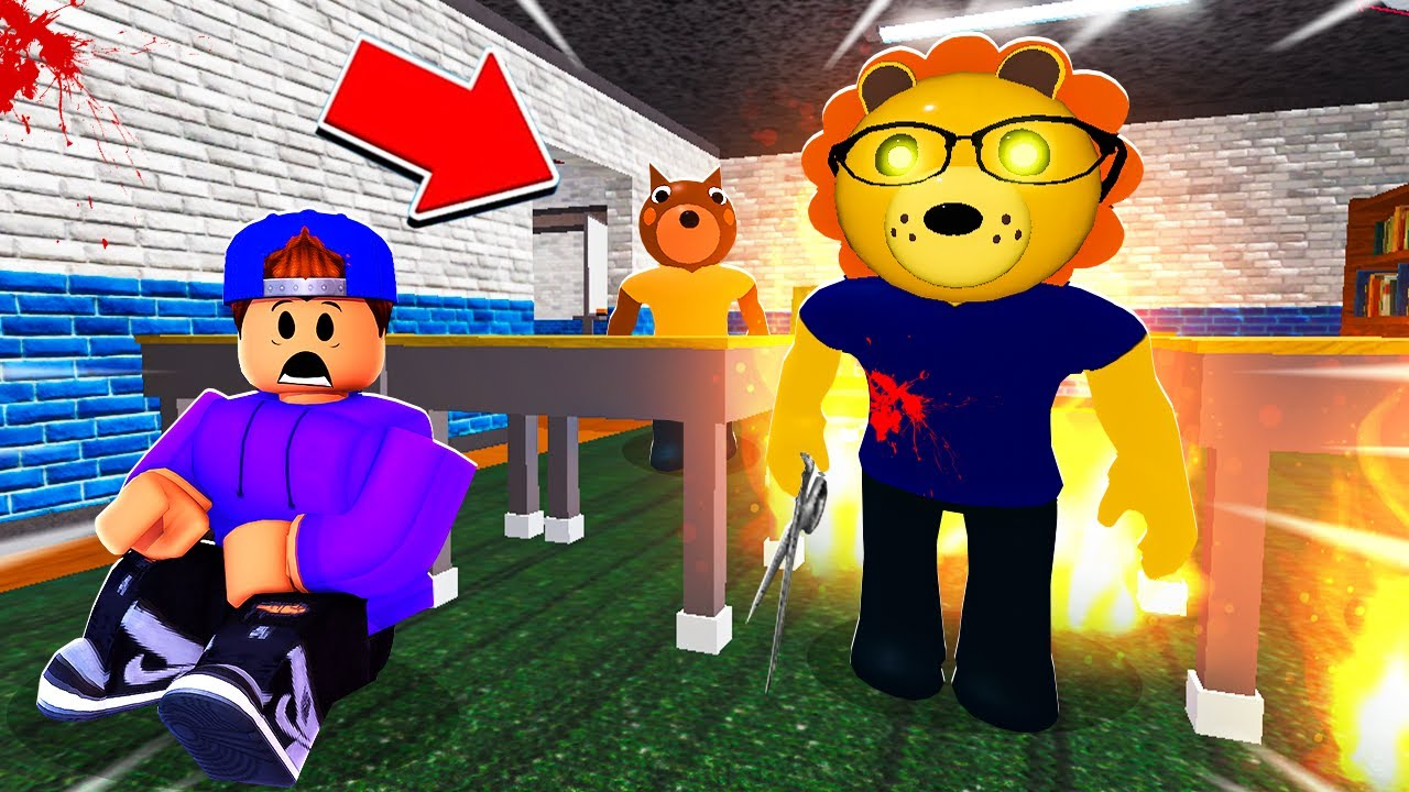 ROBLOX PIGGY INSANE SCHOOL!