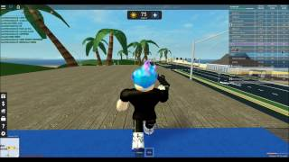 "ROBLOX - CRAZY POLICE PURSUIT PART 4! - ""PALM SHORES SNIPERS"""