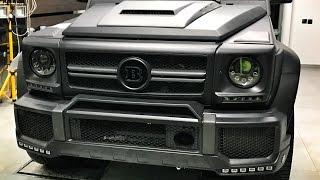 BRABUS G 63 с сиденьями от S Class! Проект Гелик 850 сил и сейф + Audi RS3 и 220i  Казань   часть I