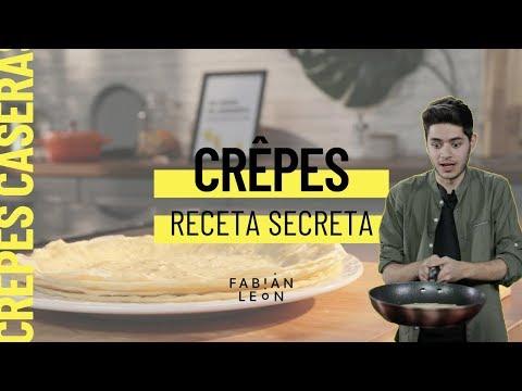 Cómo hacer crêpes caseros finos y tiernos // ¡Contienen un ingrediente secreto!