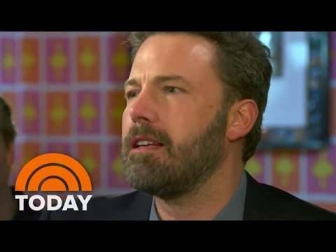 Ben Affleck: 'I Am Super Proud' Of 'Live By Night' | TODAY