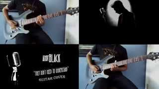 Andy Black - They Don't Need To Understand (Guitar Cover)