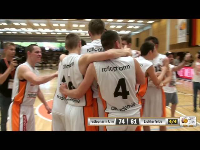 JBBL TOP4 Halbfinale 2016: ratiopharm akademie Ulm vs. TuS Lichterfelde (74:61)