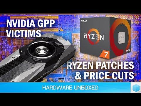 News Corner | Nvidia GPP Victims, Ryzen Price Cuts, AMD Patching Ryzen
