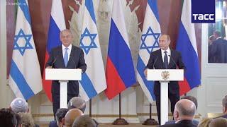 Путин сделал замечание израильскому министру, решившему не переводить вопрос к Нетаньяху