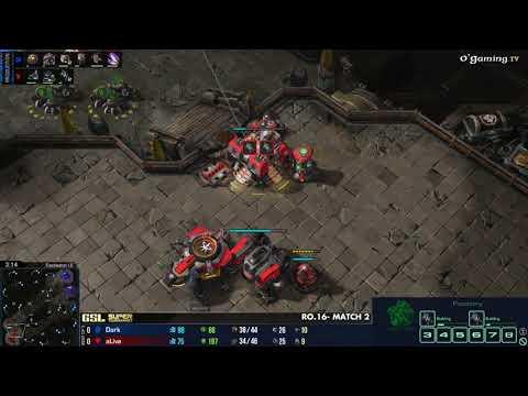 Dark vs Alive -  GSL Super Tournament  - Day 1 : Ro.16