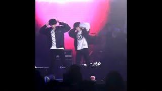 fancam 凯千 kaiqian 150325 qq music annual awards tfboys dance performance karry focus