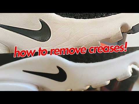 How To Remove Creases From Nike Air Prestos!