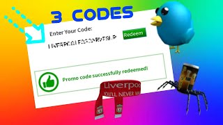 ROBLOX [ 3 Item Promo Codes ] ( August 8 )