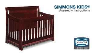 Simmons Kids® Madisson Crib 'n' More Assembly Video