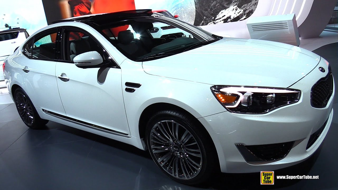 2015 Kia Cadenza Sxl Limited Exterior And Interior