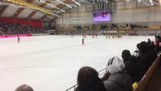 Bandy VM Sverige vs Ryssland 2016