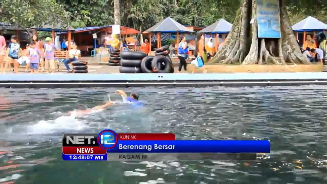 NET8 - Wisata pemandian ikan dewa di Cibulan Kuningan Jawa Barat