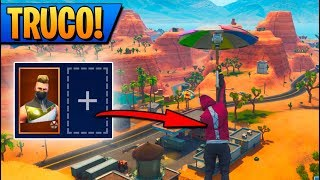 *TRUCO* SKIN SIN MOCHILA! FORTNITE: Battle Royale