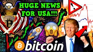 BREAKING!!! BITCOIN MAJOR VICTORY for USA!!! WARNING to ALL CRYPTO HODLERS...
