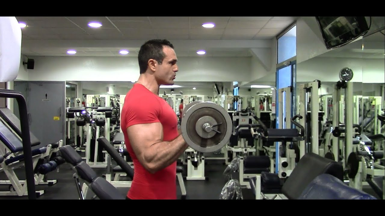 Musculation des avant-bras   Le curl inversé - YouTube 5deede366cb