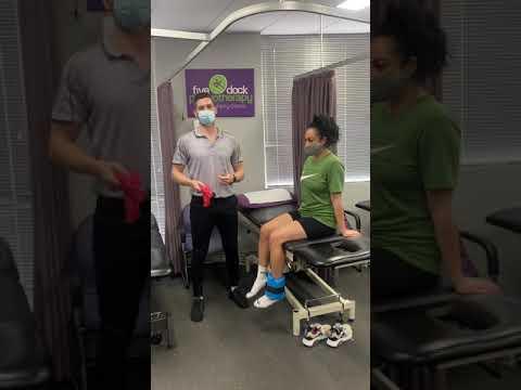 Lockdown knee rehab & strengthening- Gyms closed