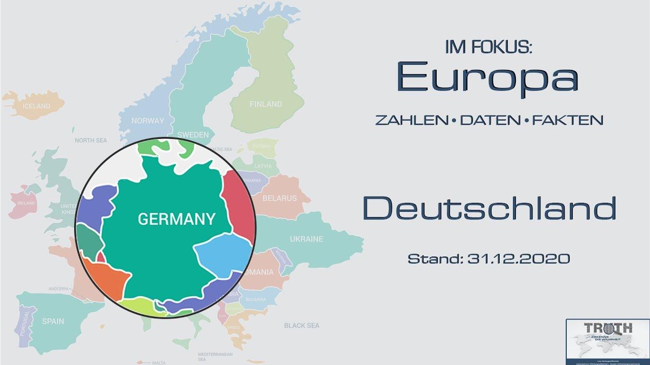 Deutschland: Zahlen - Daten - Fakten (Stand: 31.12.2020)